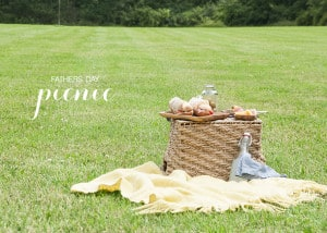 Gift ideas for father's day picnic basket